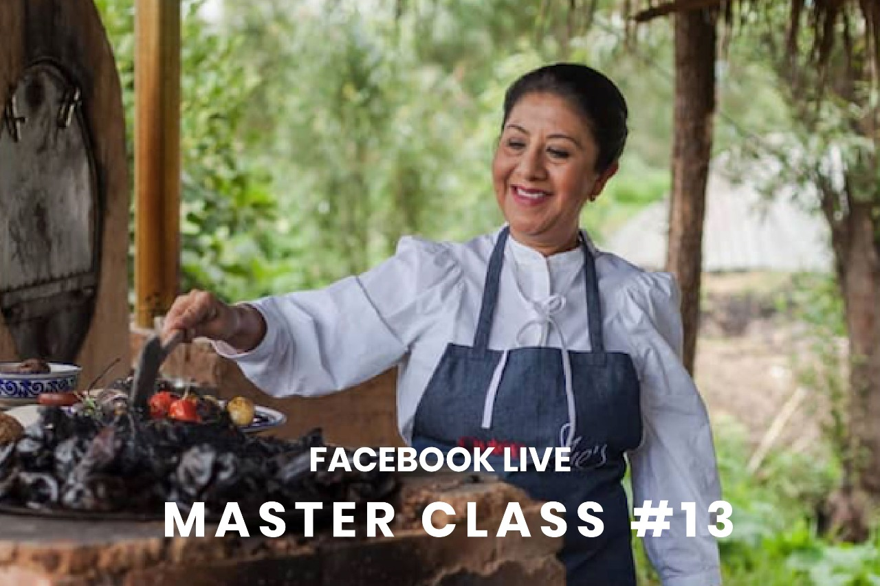 """Chef Celia Florian """"Mezcal y Cocina Tradicional """""""